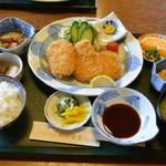わかすぎ - 料理写真:ひれカツ定食