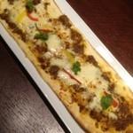 居酒屋 NIJYU-MARU - キーマカレーのオリエンタルピザ