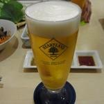 韓国家庭料理 ヘチョン - ビール