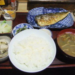味路 - 料理写真:鯖一夜干定食