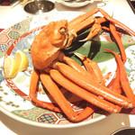 23412588 - 加茂港水揚げ紅ずわい蟹の釜揚げ