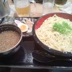 23412856 - こちらは夏にうかがった際のつけ麺(1000円)