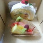 ブラウンシュガー - 料理写真:購入したケーキ類