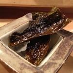 23414945 - ★7 牡蠣の昆布焼きの昆布を油で揚げたもの