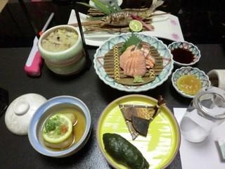十津川温泉湖泉閣吉乃屋 - 夕食