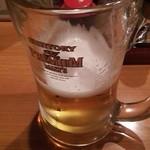 居酒屋 鳥幸 - 生ビール500円