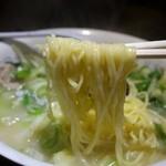 帝里加 - (2013/11月)「タンメン」の麺