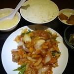 帝里加 - (2013/11月)「酢豚定食」