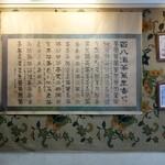 三徳堂 - (2013/11月)2階店内壁