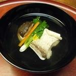 23417616 - 髭鱈酒蒸しと焼き下仁田葱