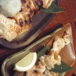 炉○楽 - 鮭ハラス/とり貝