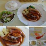 レストラン楓 - ZiZi工房のこだわりボイル料理。百年草(愛知県豊田市足助)レストラン楓。食彩賓館撮影