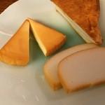 とも庵 - チーズとかも
