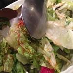 肉屋の台所 道玄坂ミート ぶたキム - サラダ