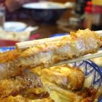きくや飯店 - かつ丼(汁つき)1000円
