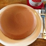 絵本カフェ holo holo - 大きな大きな手作りパンケーキ