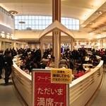 松戸富田製麺 - 新年の三井アウトレットパーク 木更津のフードコート大盛況 1/2/2014