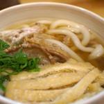 23425619 - かけうどん(油かす)(太麺)