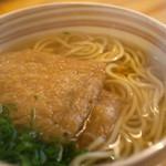 23425620 - かけうどん(きつね)(細麺)