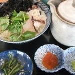 北陸道米山サービスエリア(下り線) レストラン - 鯛茶漬けセット米山風