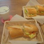シャンズカフェ - 手作りサンドイッチ