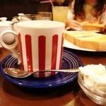 BUCYO Coffee KAKO - 娘が頼んだココア(13年12月)