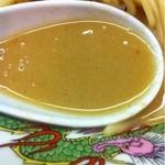 天下一品 - スープ(粘度低し…)