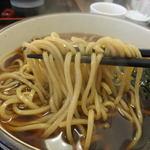 そば処 玄 - <'14/01/03>カツ丼そばセット(十割、温そば)