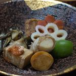 浅田屋 - お皿に盛りました2
