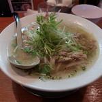 麺屋 花蔵 - 鶏ごぼうラーメン780円