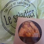 ル サラディエ - テイクアウト購入した、キッシュロレーヌ(480円)