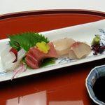 吉祥寺 車屋 - 造り/旬の鮮魚(2014.1)
