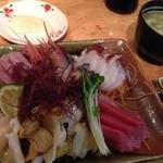 蒸汽船 - 料理写真:刺身定食1800円