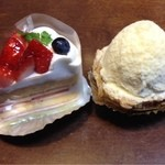 Mondo - 料理写真:ショートケーキ、ボレロ