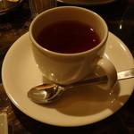 ステーキ池田 - 食後の紅茶