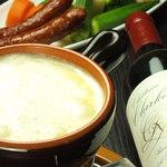 スペインバルエルソル - 大人気のチーズフォンデュが登場