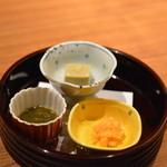 日本料理 瀬戸内 - 先付3種盛合