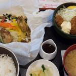 ジョナサン - 広島産牡蠣のよくばり御膳