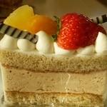 フレーズ - 紅茶のケーキ 357円