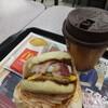 マクドナルド - 料理写真:朝マック メガマフィンセット