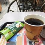 マクドナルド 館林店 - ホットアップルパイとコーヒーM
