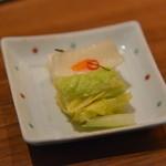 日本料理 瀬戸内 - 香の物