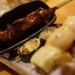 円山 古今 - シロレバ、ズッキーニ、ベーコントマチーズ