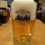 一富士 - 生ビール