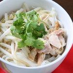 Sii - 新鮮もやしと豚肉のフォー