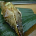 三島屋寿司 - 1,200円ランチの一部(2009/8月)(穴子)