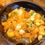 富華 - 鶏肉ピリ辛炒め丼