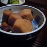 shimmikushi - 里芋と烏賊の煮物