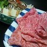 松阪屋 - すき焼きコース肉