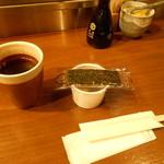 23444231 - お茶、納豆海苔